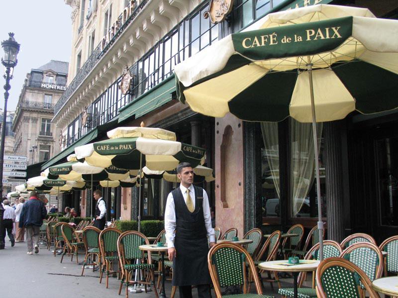 Café de la Paix en paris