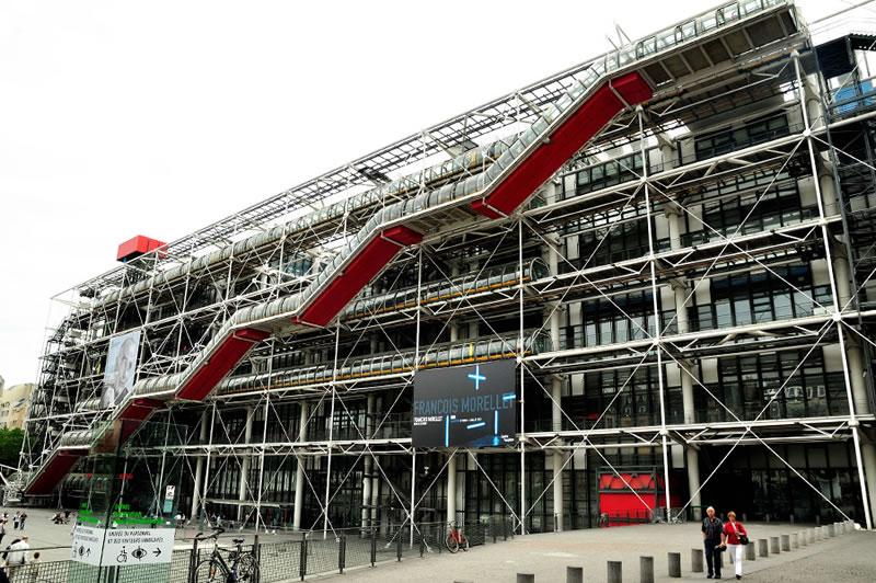 centro-pompidou de Paris
