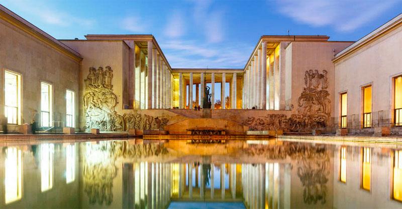 Museo de arte contemporaneo de paris