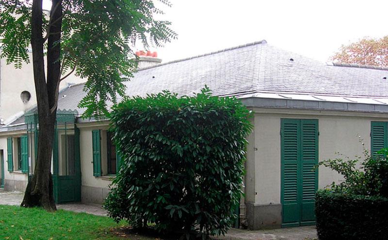 Casa de Balzac en Paris
