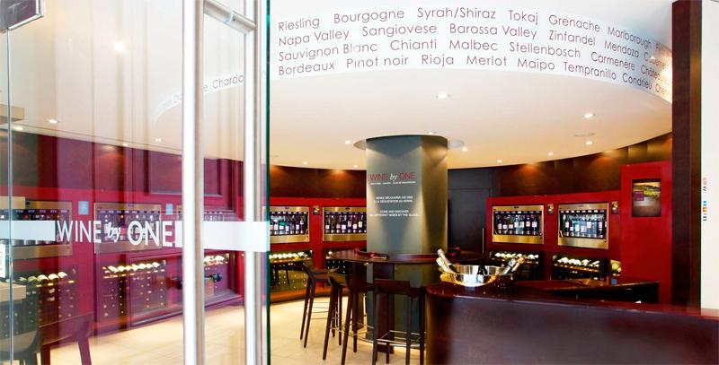 Probar vinos en París