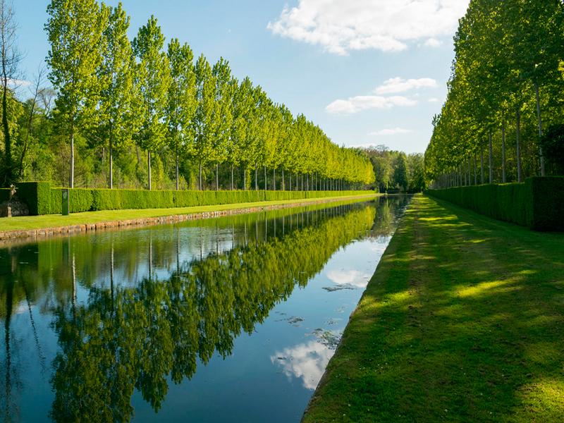 Jardines del castillo de Courances