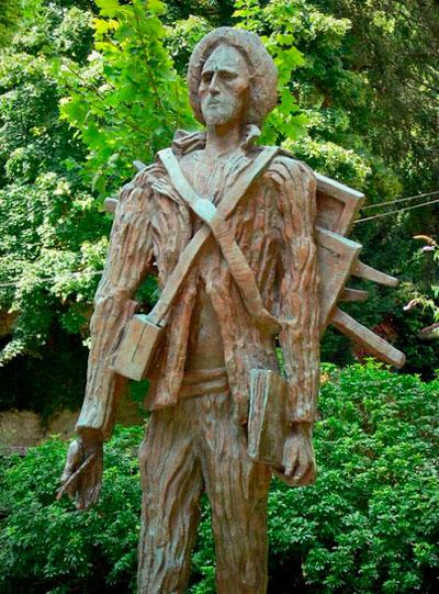 Estatua Van Gogh