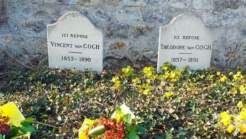 Tumbas de Van Gogh y Theo