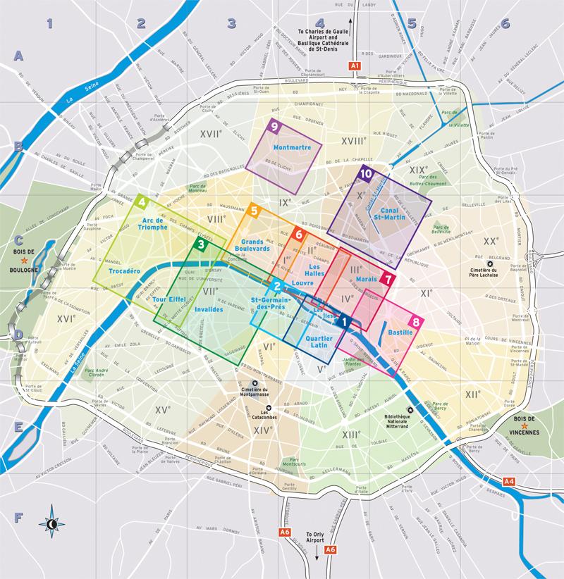 Mejores Zonas Para Alojarse En Paris